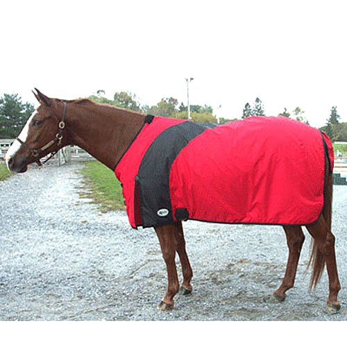 Fortex Exselle Prima Draft Horse Turnout Blanket - Red/Bl...