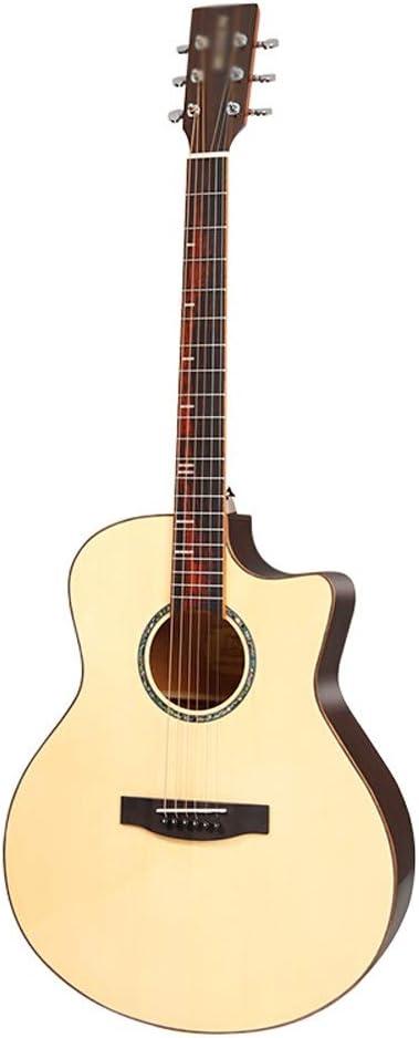 Loivrn Guitarra Principiante Nivel de entrada Instrumento de ...