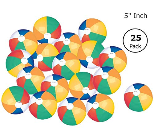 Top Race Colorful Beach Balls Rainbow Color Beach Balls 5