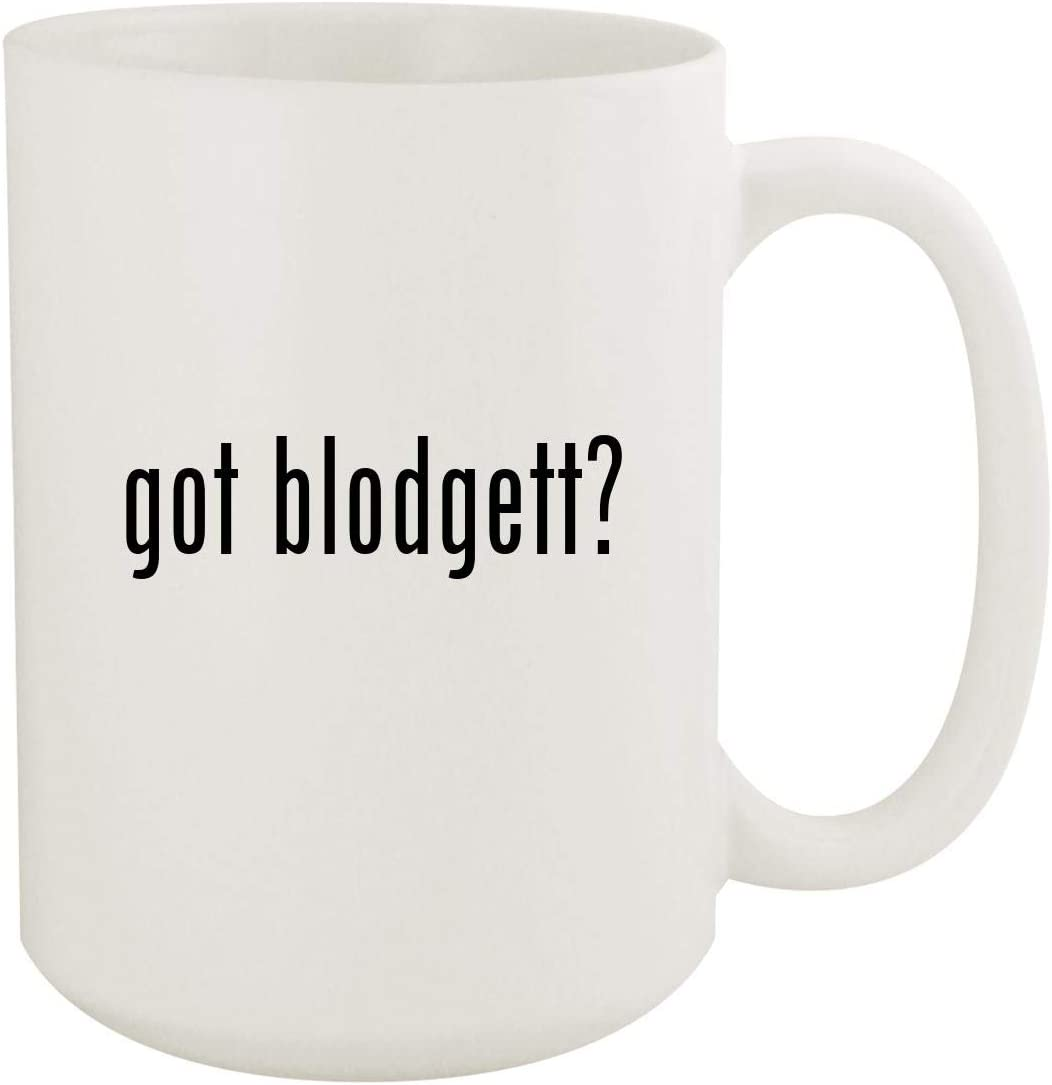 got blodgett? - 15oz White Ceramic Coffee Mug