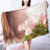 AmaPark Cotton Bath Towel Female Sex Super Soft L55.1 x W27.5 INCH