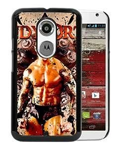 WWE Randy Orton Black Personalized Recommended Custom Motorola Moto X 2nd Generation Phone Case