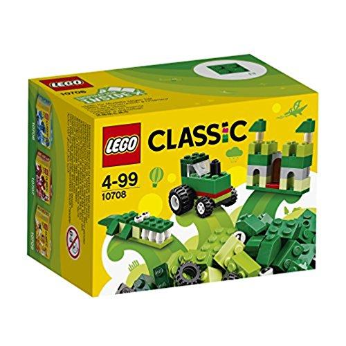 LEGO Classic Caja creativa de color verde