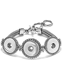 Ginger Snaps 3 - Snap Multi-Chain Bracelet (Standard Size) SN90-19 Interchangeable Jewelry