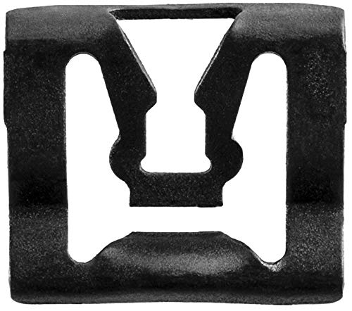 Clipsandfasteners Inc 100 Windshield Reveal Moulding Clip Compatible with Ford C5ZZ-6543413-B
