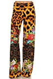Women's New Spring Animal Print Palazzo Pants