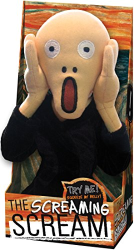 The Unemployed Philosophers Guild Munch Scream Doll - Little Thinker - Plush Doll