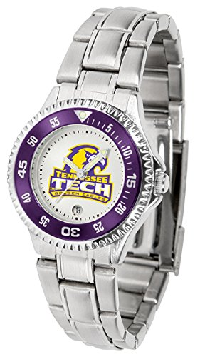 - Tennessee Tech Golden Eagles Competitor Ladies Watch with Steel Band
