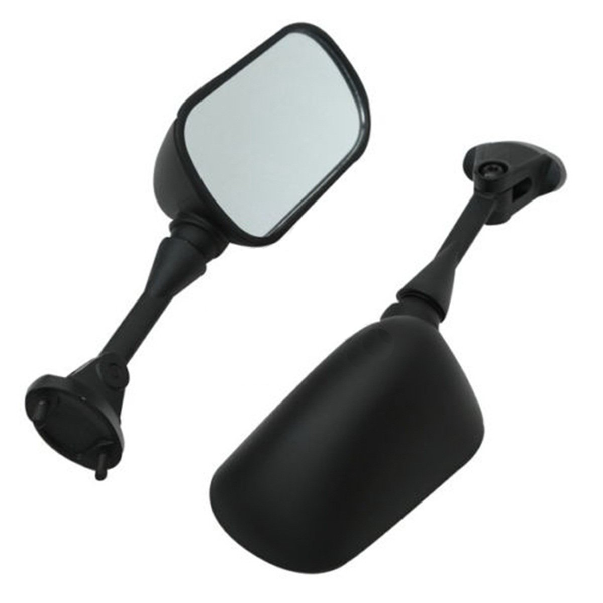 Side Rear View Mirrors For Kawasaki Ninja ZX6R ZX-6R ZX 6R 636 2005 06 07 08 New