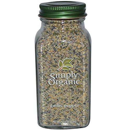 Simply Organic, Garlic Pepper, 3.73 oz (106 g) - (106 Garlic)