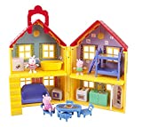 Peppa Pig Deluxe House (Deluxe Pack - 15 Accessory Toys Included)
