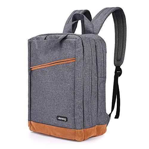 Laptop Backpack,Business Anti Theft Slim Durable Laptops Backpack With USB Port,College School Computer Bag,Fit 15.6 Inch Laptop And Notebook-Gray by Aoneng
