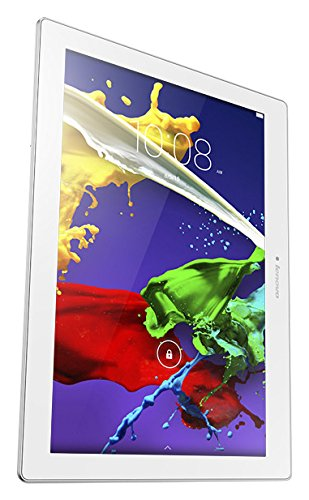 "Lenovo Tab 2 A10-30 - Tablet de 10.1"" (Wi-Fi, 2 GB RAM, 16 GB, Android 5.1), color blanco: Lenovo"