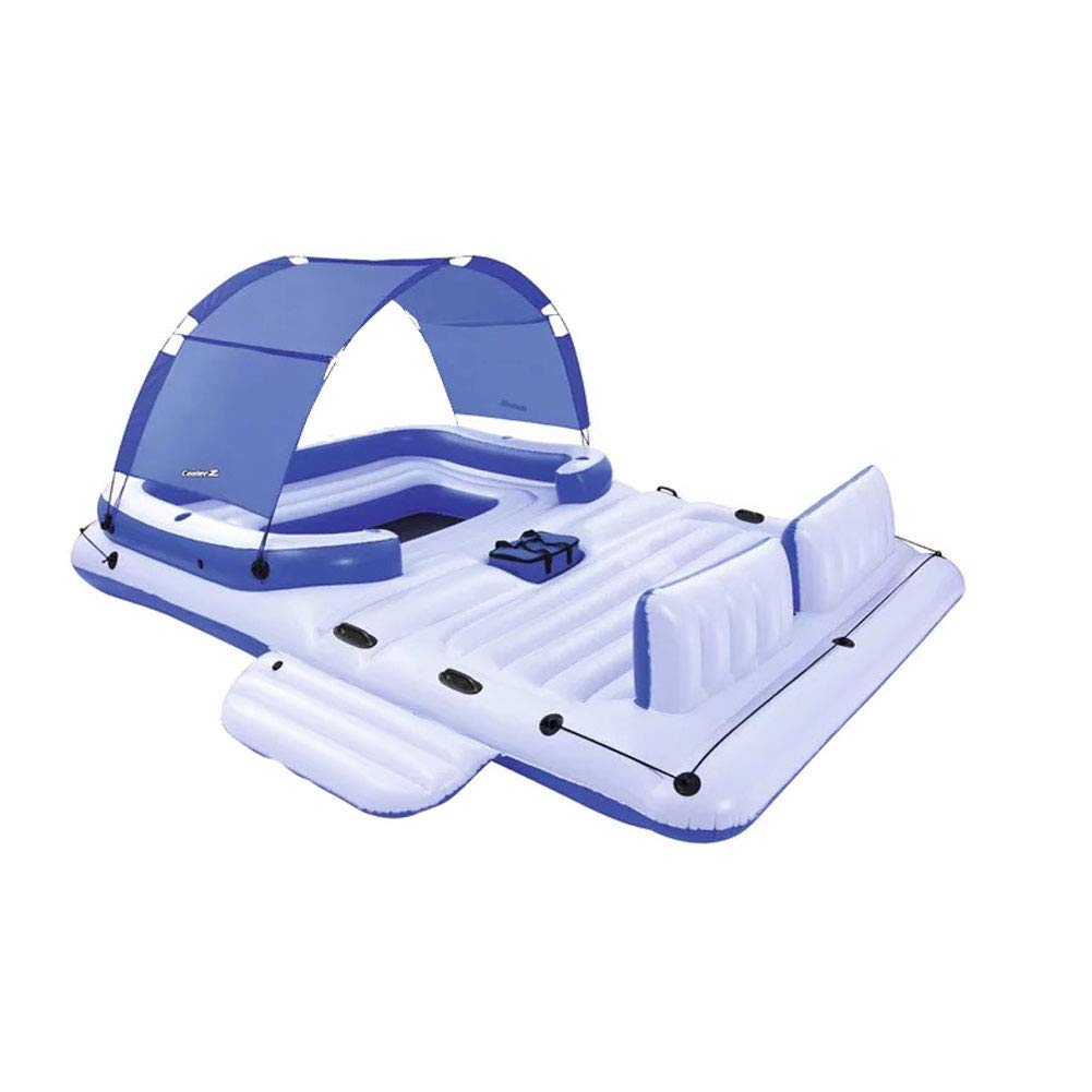 KIKBLW Adult Swimming Floating Row, Marine Paradise Chair Floating Row Floating Bed Floating Summer Rest Adult Children Water Toys