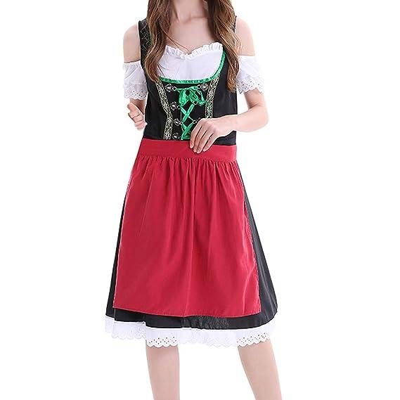Goosun Traje Tradicional de Tirolesa Vestido Moda Alemana de ...