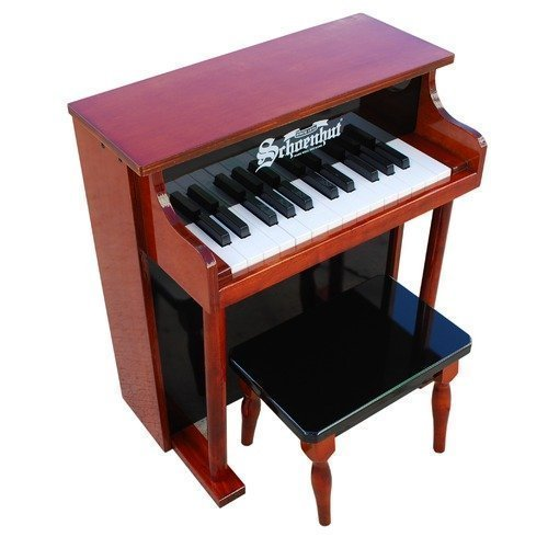 Schoenhut Traditional Spinet Piano in Mahogany an