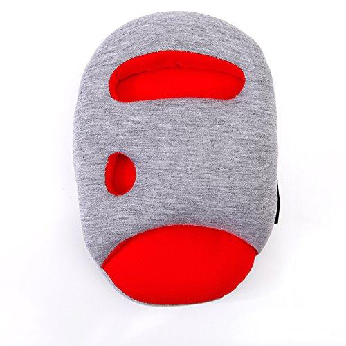 Zebratown Mini Ostrich Pillow Lazy Nap Hand Cushion-1pcs (Red)
