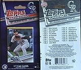 2017 Topps Factory, Heritage, & Opening Day Colorado Rockies 3 Team Set Lot Gift Pack 39 Cards Carlos Gonzalez Charlie Blackmon Nolan Arenado David Dahl