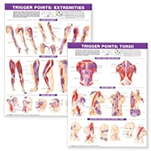Trigger Point Chart Set: Torso and Extremities Lam