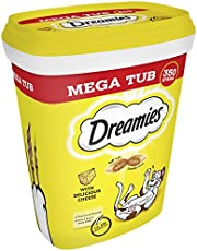 Dreamies Cat Treats with Cheese Mega Tub, 350 g