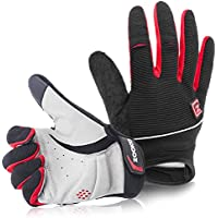 Zookki Light Silicone Gel Pad Touch Recognition Cycling Gloves