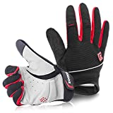 Zookki Cycling Gloves Mountain Bike Gloves Road Racing Bicycle Gloves Light Silicone Gel Pad Riding...