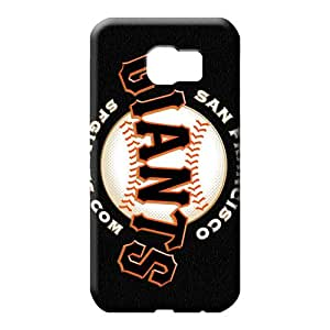 samsung galaxy s6 edge Sanp On Anti-scratch Scratch-proof Protection Cases Covers mobile phone carrying covers san francisco giants mlb baseball