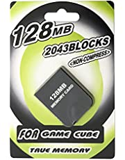 AreMe Memory Card for Wii Gamecube GC Console (128MB, Black)