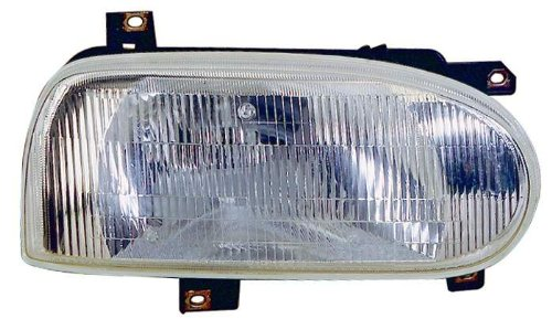 Depo 341-1101L-AS Volkswagen Golf/Cabrio Driver Side Replacement Headlight Assembly