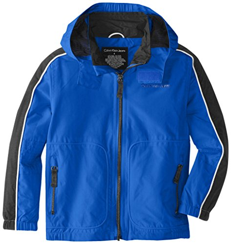 Calvin Klein Boys' Max Capacity Water-Resistant Shell Jacket