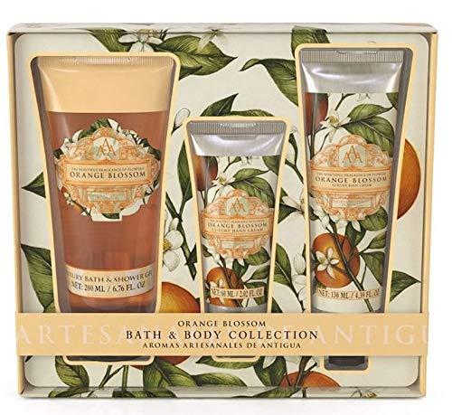 AAA Floral - Bath & Body Care Collection: Shower Gel, Body Cream & Hand Cream Orange Blossom