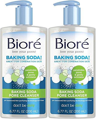 Biore Baking Soda Liquid Cleanser, 6.77 Fluid Ounce