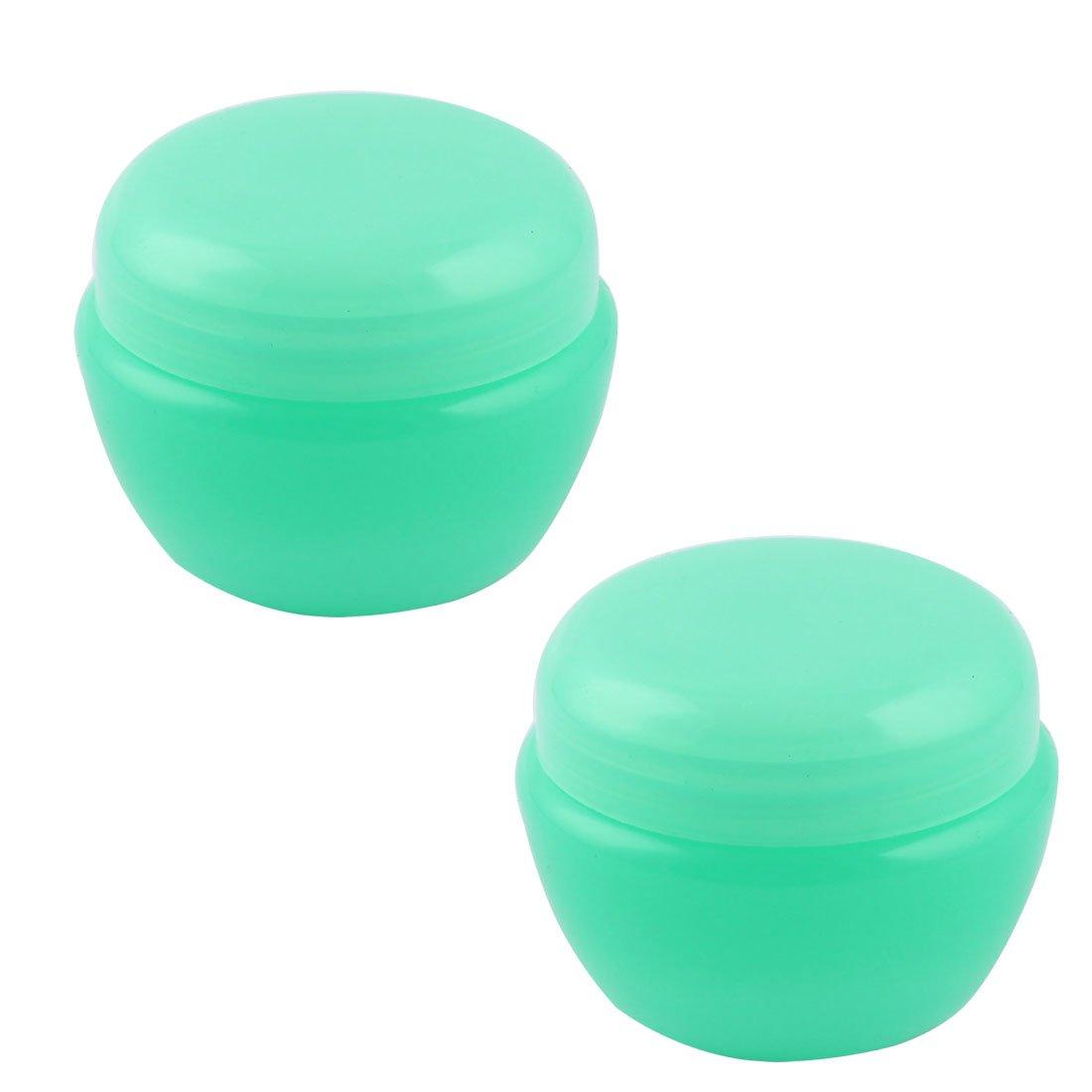 sourcingmap 2Stk Kunststoff Behälter Kosmetik Aufbewahrungsflasche Organizer grün 32ml a17022800ux0755