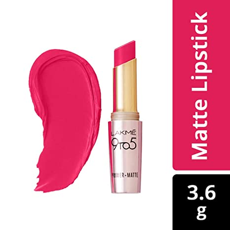 fb8f99dcbe1 Buy Lakme 9 to 5 Primer Matte Lip Color, Ruby Rush MR20, 3.6g Online at Low  Prices in India - Amazon.in