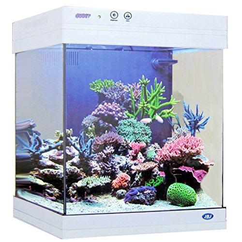 JBJ 15 Gallon White Cubey Aquarium by Cubey