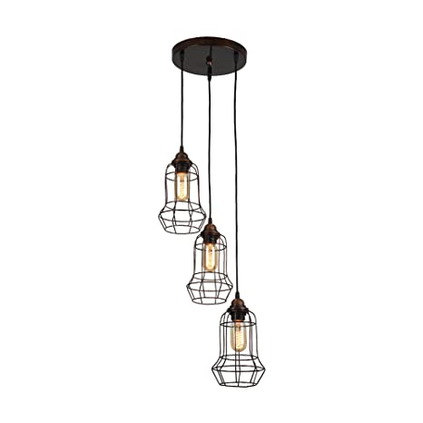 Candelabros de hierro vintage, 3 luces industriales antiguos ...