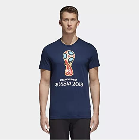 9875e955a83 Adidas FIFA World Cup Emblem TEE  Amazon.in  Sports