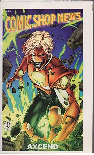 Comic Shop News, no. 1477 (2015) (cover: Axcend): Spider-Man vs Sub-Mariner, Guardians of Infinity, Immortalis, Batman: Europa, Constantine the Hellblazer, Darkseid War, Batmain Noir: Black Mirror (Guardians Of The Galaxy All New X Men)