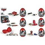 Colorbaby 76734, pack 24 huevos sorpresa disney cars. ideal para fiestas y cumpleaños