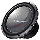 Pioneer TS-W3003D4 Champion Series Pro Subwoofer with Dual 4 ff Voice Coils and 2000W Max Power(one speaker)