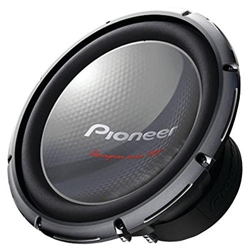 Pioneer TS-W3003D4 Champion Series Pro Subwoofer with Dual 4 ff Voice Coils and 2000W Max Power(one (Pioneer Champion Series)