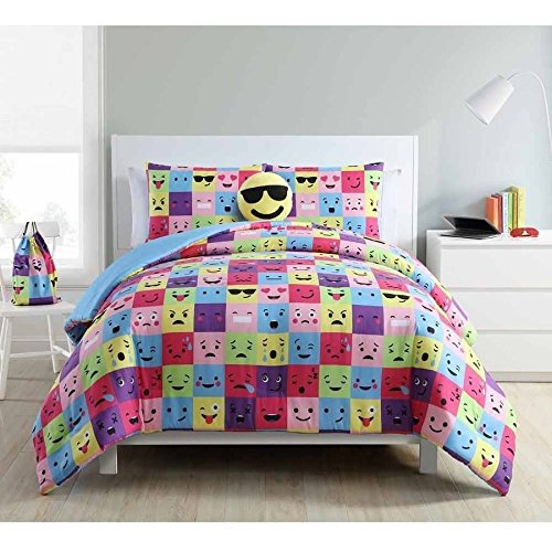 Emoji Twin Bedding Set