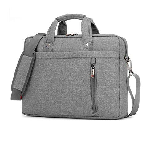 [해외]13 인치 큰 크기 나일론 컴퓨터 노트북 단색 노트북 태블릿 가방 케이스 가방 내구성 그레이 색상/13 Inch big size Nylon Computer Laptop Solid Notebook Tablet Bag Bags Case Durable Gray Color
