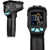 RuleaxAsi Termômetro industrial -50~550 ℃ medidor de temperatura infravermelho portátil LCD medidor de temperatura sem…