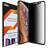 COVELL Privacy Screen Protector for iPhone Xs iPhone X 2018...