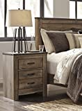 Signature Design by Ashley B446-92 Trinell Nightstand, Brown