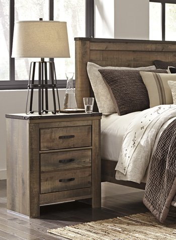 Signature Design by Ashley B446-92 Trinell Nightstand, Brown by Signature Design by Ashley