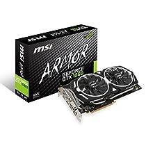 MSI GAMING GeForce GTX 1060 6GB GDDR5 DirectX 12 VR Ready (GeForce GTX 1060 ARMOR 6G OC)