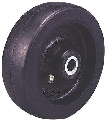 "Revvo 150 RU15 6"" Diameter X 1-3/4"" Width Rubber Wheel, 810 lb. Capacity"