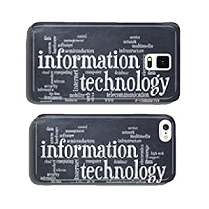 information technology word cloud cell phone cover case Samsung S6